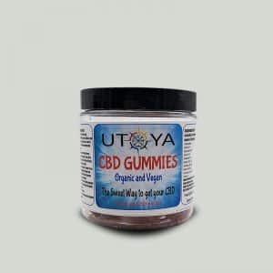 Organic CBD Gummies by Utoya Organics 60 ct Jar