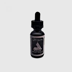 Utoya D8 CBD CBN Tincture Oil - D8 1500 CBD 1000 mg