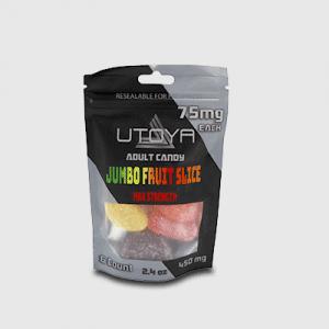 Delta 8 Gummies - 75 mg Gummies Max Strength Bag 6 Ct
