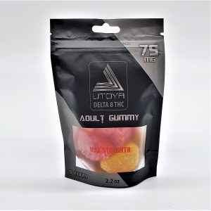 THC Delta 8 Gummy Fruit Slices 75mg Maximum Strength