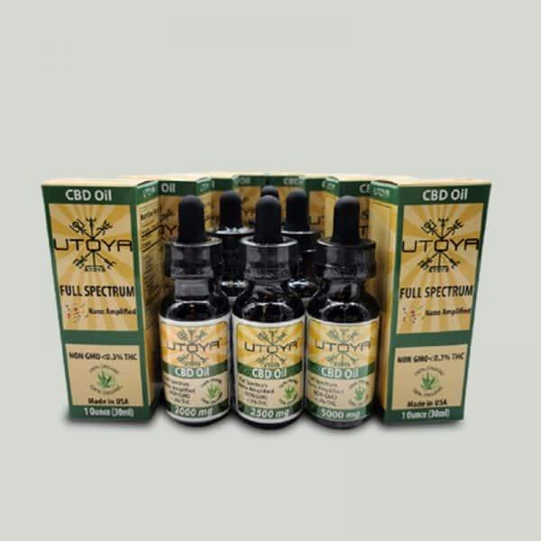 10 Pack Deal Full Spectrum CBD Oil - Nano CBD Oil