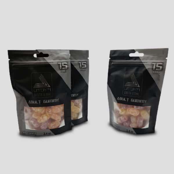 Buy 2 Get 1 Free Delta 8 THC Gummies - D8 Gummy Bears 15mg 30ct - 3 bags