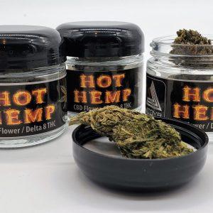 Hot Hemp - D8 treated Hemp Flower