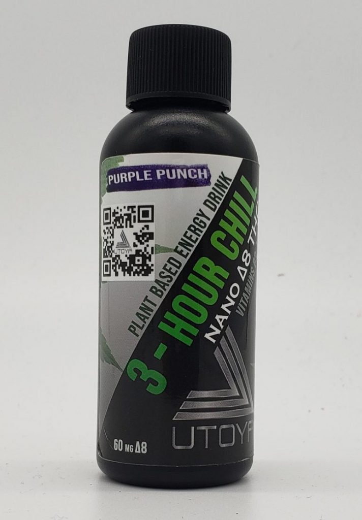 Purple Punch - D8 Drink - 3 hour Chill