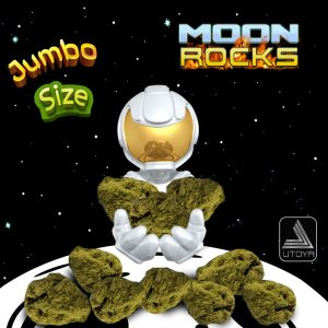 Jumbo Moon Rocks - Lifter - Large D8 Flower Moon Rocks by Utoya