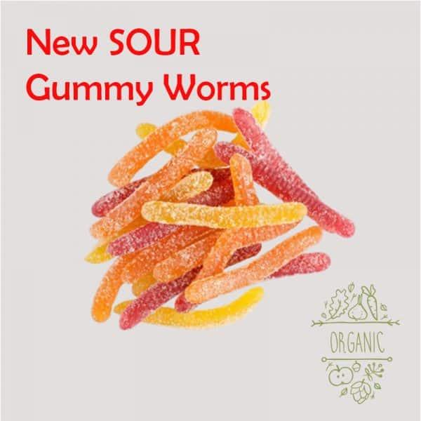 Bulk Delta 8 Sour Gummy Worms