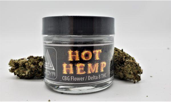 Utoya Delta 8 Flower Hot Hemp - Spec 7 - Third-party lab-tested hemp flower