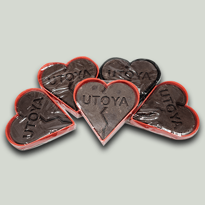 Delta 8 THC Chocolate Heart Candy