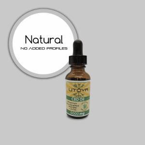 Full Spectrum CBD Oil - 5000mg - Natural
