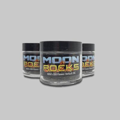 Buy 2 Get 1 Free Delta 8 Moon Rock Minis By Utoya x3 3.5 gram jars