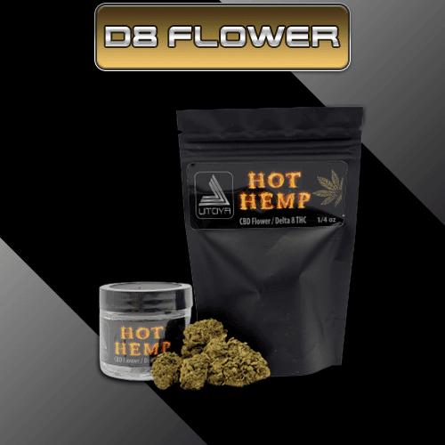 Delta 8 Flower - Delta 8 Buds - Utoya Delta 8 Hemp Flower