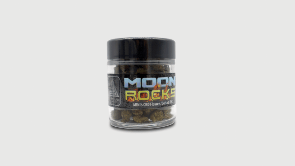 Utoya Delta 8 Moon Rocks Minis Half Oz Jar - Hot Hemp Moon Rocks