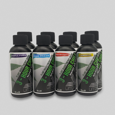 8 Pack of Delta 8 Drinks - 3 Hour Chill Shots - All Flavors