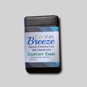 Canna Breeze Earthy Chai Natural Deodorizer Air Spray With Protective Slide Cover