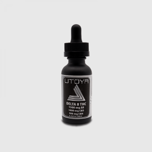 Utoya D8 CBD CBN Tincture Oil - D8 1500 CBD 1000 mg CBN 500 mg