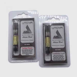 Artisan Delta 8 THC, CBD, and CBN Vape Cartridge - One Gram - Utoya Organics