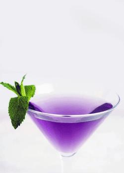 Purple Vodka For Purple Punch Vodka and Delta 8