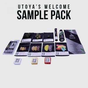 Welcome Sample Pack By Utoya Organics Delta 8 Sample Kit For New Stores